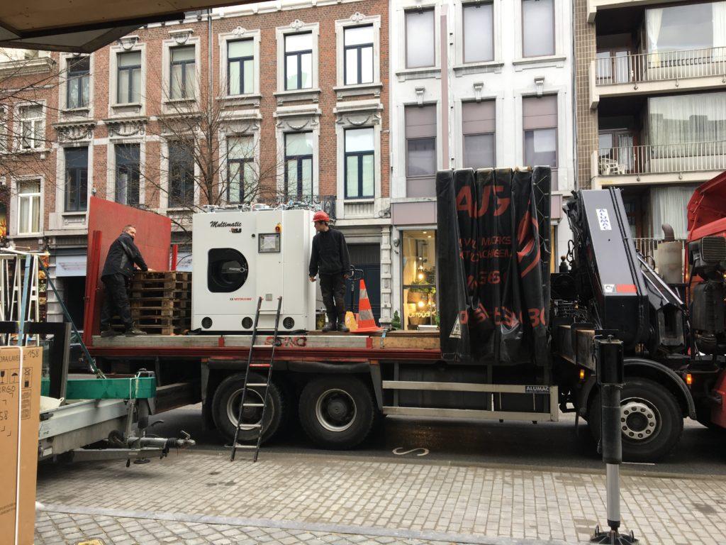 Livraison machine multimatic ilsa imediasec Liège